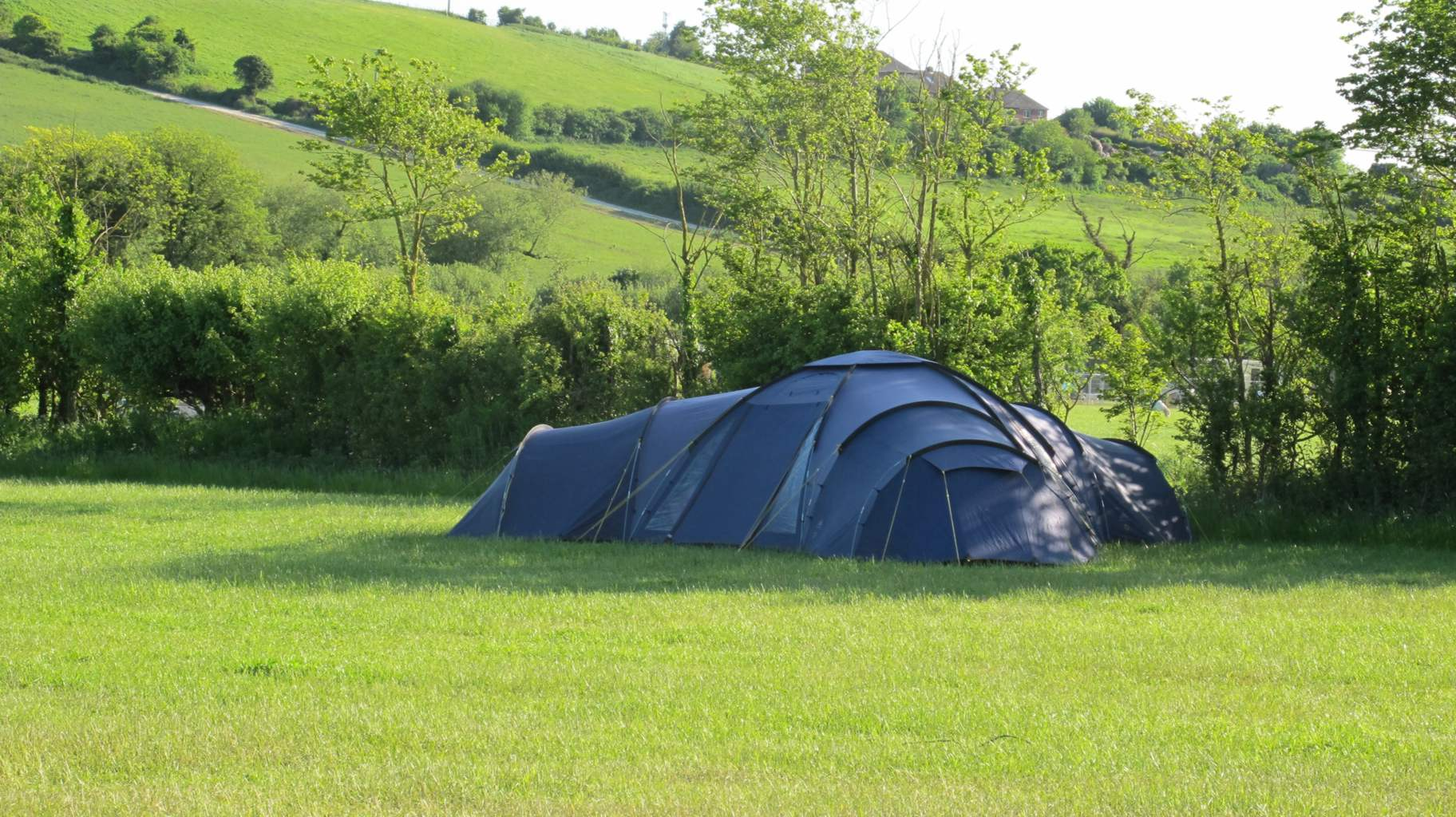 Camping at Northdown